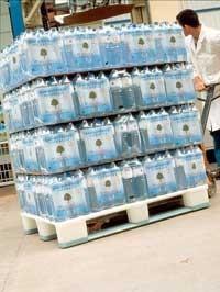 Bancale di acqua